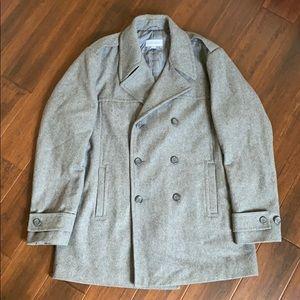 Calvin Klein L Men's Peacoat - Gray - Like New